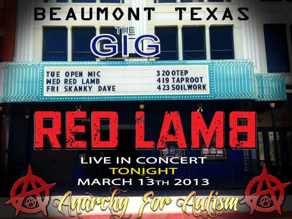 Red Lamb flyer